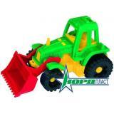 Трактор Ижора (с грейдером) (пластик) (от 3 лет) (106334) 151, (Норд-Пласт)