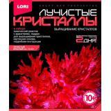 LORIЛучистыеКристаллы Красный кристалл (комплект материалов для изготовления) (в коробке) (от 10 лет) Лк001, (ООО