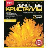 LORIЛучистыеКристаллы Желтый кристалл (комплект материалов для изготовления) (в коробке) (от 10 лет) Лк004, (ООО