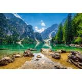 Пазлы 1000 дет. Озеро в горах C-103416, (Castor Drukarnia i Wydawnictwo)