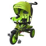 Велосипед-коляскаLAMBORGHINI L3G (3-х колесный,ручка управления,надувные колеса d=10 и 12 дюймов,регулируемая спинка,свет,звук,LCD дисплей) (зеленый), (SHENZHEN GBC GLORY BUSINESS CORPORATION LTD)