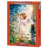 Пазлы 1000 дет. Прикосновение Ангела С-103867, (Castor Drukarnia i Wydawnictwo)