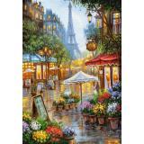 Пазлы 1000 дет. Весенние цветы. Париж C-103669, (Castor Drukarnia i Wydawnictwo)