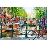 Пазлы 1000 дет. Пейзаж, Амстердам C-103133, (Castor Drukarnia i Wydawnictwo)