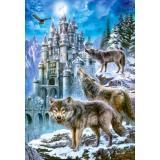 Пазлы 1500 дет. Волки и замок C-151141, (Castor Drukarnia i Wydawnictwo)