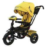 Велосипед-коляскаLEXUS TRIKE LTSPORT T400M2S-N1210-YELLOW+BLACK (3-х колесный, надувные колеса d=12 и 10 дюймов, светомузыкальная панель, складной руль) (желтый+черный), (HANGZHOU JOY SHINE IMP & EXP CO.,LTD)