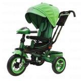 Велосипед-коляскаLEXUS TRIKE T400M2-N1210-GREEN (3-х колесный, надувные колеса d=12 и 10 дюймов, светомузыкальная панель, складной руль) (зеленый), (HANGZHOU JOY SHINE IMP & EXP CO.,LTD)
