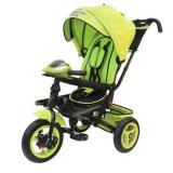Велосипед-коляскаLEXUS TRIKE T400M2-N1210-GREEN+BLACK (3-х колесный, надувные колеса d=12 и 10 дюймов, светомузыкальная панель, складной руль) (зеленый+черный), (HANGZHOU JOY SHINE IMP & EXP CO.,LTD)