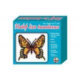 НаборДляВышивания Бабочка (с пяльцами) (в коробке) (от 5 лет) 00337, (ООО