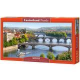 Пазлы 4000 дет. Река Влтава. Прага С-400096, (Castor Drukarnia i Wydawnictwo)
