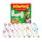 НастИгра Домино. Веселая ферма (+пазлы 18 дет.) (в коробке) (от 3 лет) ИН-6753, (Рыжий кот)