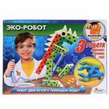 ОпытыИграемВместе Эко-робот (инструкция) (работает от воды и воздуха)  (комплектующие для изготовления) (в коробке) (от 6 лет) TX-10012, (Shantou City Daxiang Plastic Toy Products Co., Ltd)
