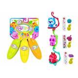 Bananas. Игрушка с сюрпризом (связка из 3-х бананов) (оранжевый, желтый, розовый) (от 4 лет) BB30000B, (Cepia LLC)