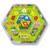 Мозаика шестигранная 250 дет. (d=13мм) 01020, (Стеллар)