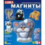 LORIБарельеф Озорные зверята (комплект материалов для изготовления) (в коробке) (от 5 лет) М014, (ООО