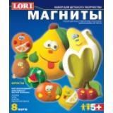 LORIБарельеф Фрукты (комплект материалов для изготовления) (в коробке) (от 5 лет) М005, (ООО