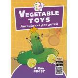 Tinkilinki Фрост А. Игрушки из овощей=Vegetable toys (QR-код для аудио) (от 3 до 5 лет), (Титул, 2018), Обл, c.32