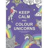 АртТерапияРаскраскиАнтистресс Keep calm and color unicorns, (Эксмо,Бомбора, 2018), Обл, c.96