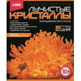 LORIЛучистыеКристаллы Оранжевый кристалл (комплект материалов для изготовления) (в коробке) (от 10 лет) Лк005, (ООО