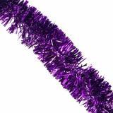 Мишура Сверкающая елка (d=5см, 2м, фиолетовая) НУ-4843, (ООО