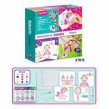 KPEATTO Аквамагия. Принцесса (комплект материалов для изготовления) (в коробке) (от 3 лет) 37015, (Росмэн)