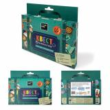 ИгровойНабор Квест в чемоданчике. Морское путешествие (вводная карточка, 8 писем-конвертиков, пазл 8 дет., наклейки, инструкция) (в коробке) (от 5 лет) 83288, (ООО