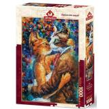 Пазлы 1000 дет. Танец влюбленных кошек 4226, (Art Puzzle)