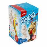 LORI3DArt Игрушка-раскраска Бычок (комплект материалов для изготовления) (в коробке) (от 5 лет) Ир022, (ООО