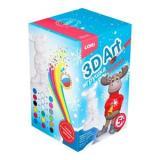 LORI3DArt Игрушка-раскраска Веселый олень (комплект материалов для изготовления) (в коробке) (от 5 лет) Ир021, (ООО
