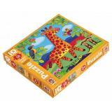 IQМаксиПазл 16 дет. Милый жираф 27642, (Айрис-пресс)