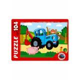 Пазлы 104 дет. Синий трактор П104-4884, (Рыжий кот)