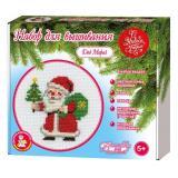 Набор Для Вышивания Дед Мороз (комплект материалов для изготовления, с пяльцами) (в коробке) (от 5 лет) 04226, (ООО