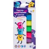 Genio Kids Тесто-пластилин (6 цветов*30гр) (в коробке) (от 3 лет) TA1090, (ООО