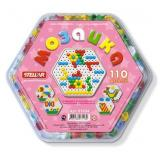 Мозаика 110 дет. Шестигранная (d=13мм) (пластик) (от 3 лет) 01034, (Стеллар)