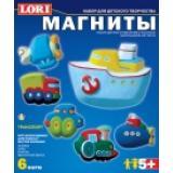 LORIБарельеф Транспорт (комплект материалов для изготовления) (в коробке) (от 5 лет) М011, (ООО