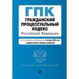 АктуальноеЗаконодательство Гражданский процессуальный кодекс РФ (изменения и дополнения на 4 октября 2020 года) (+сравнительная таблица изменений), (Эксмо, 2020), Обл, c.256