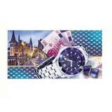 1040305 Часы (конверт для денег, мужской), (МИЛЕНД)