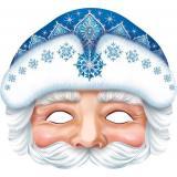 3035081 Маска Деда Мороза (вырубка), (МирОткр)